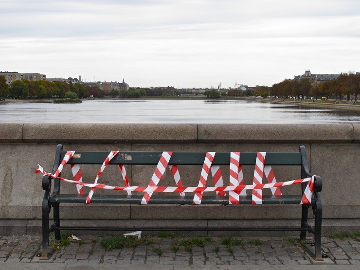 No sitting on the bridge