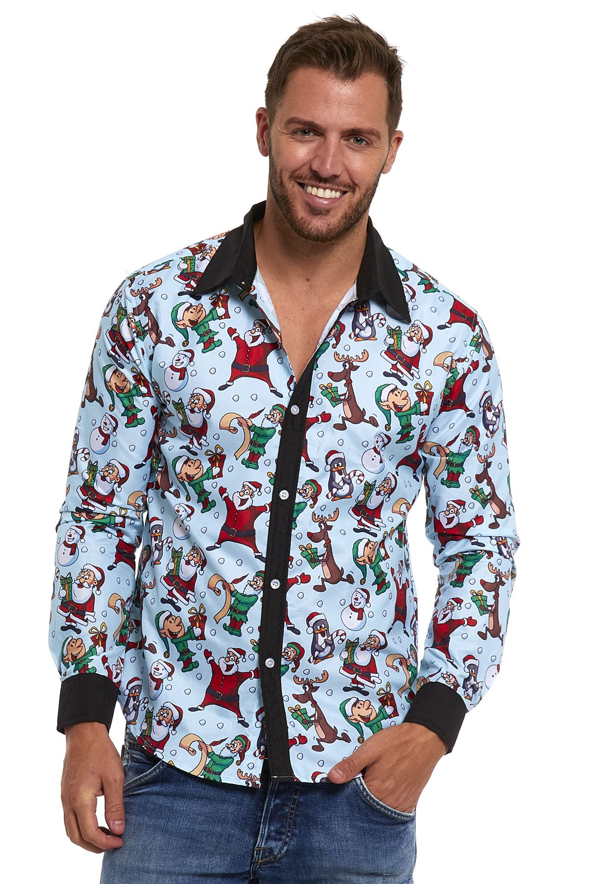 mens fancy stand out stag do shirts party funny scary