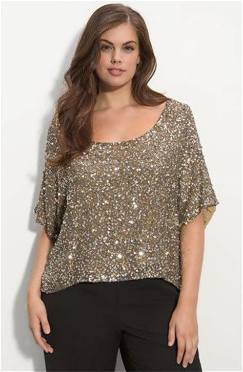 size sparkly top good    fashion