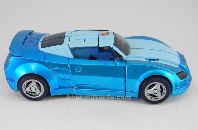 Transformers Blurr United Deluxe - modo alterno