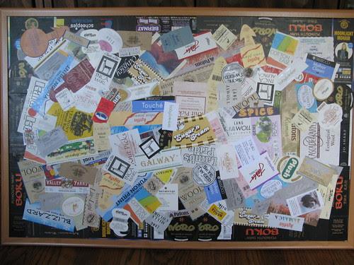 Yarn Label Collage