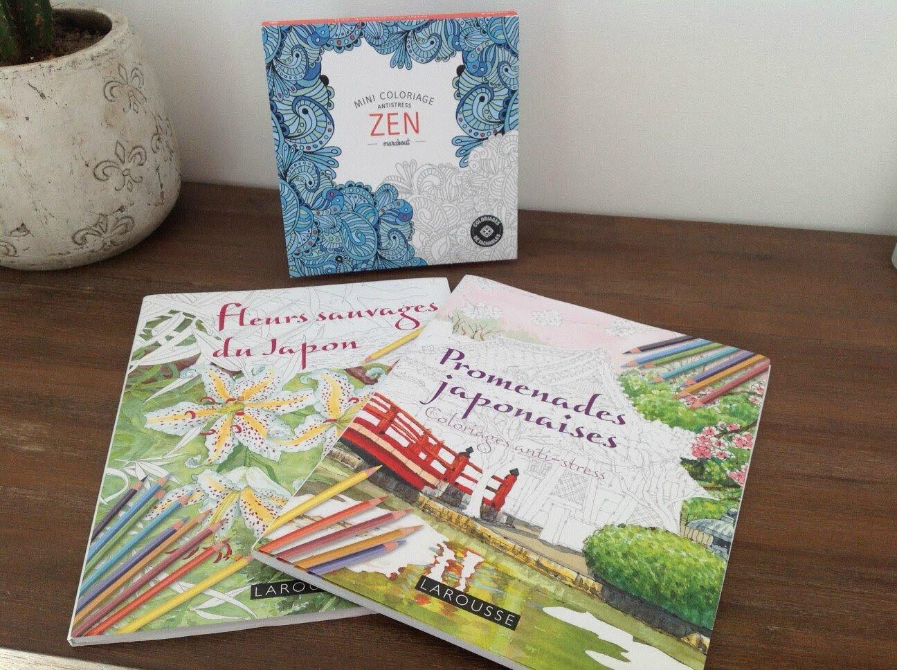 Les livres de coloriage pour les adultes