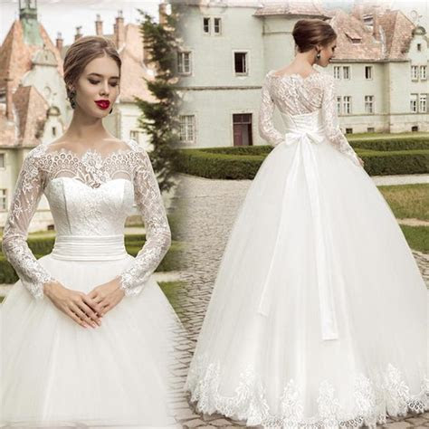Spring Brand New Design Vintage Wedding Dresses With Lace