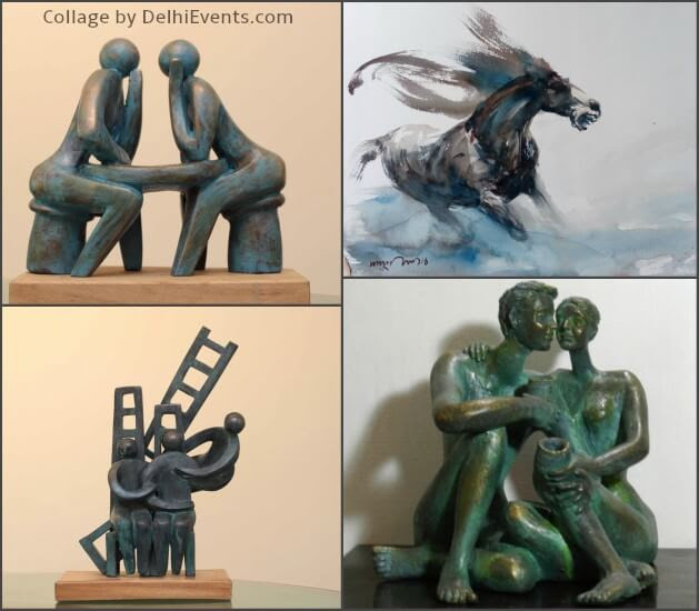 Forms Feelings Group Show Sculptures Paintings Talented Artists Artworks