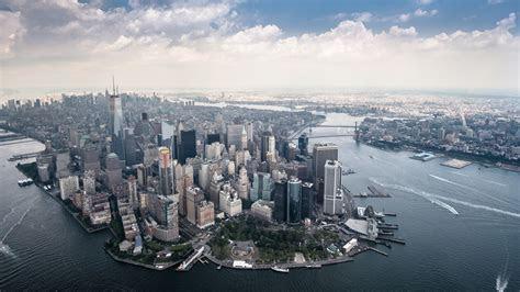 Manhattan Skyscraper Scenery New Yor  Wallpaper #17404