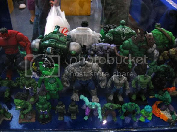 Hulk action figures