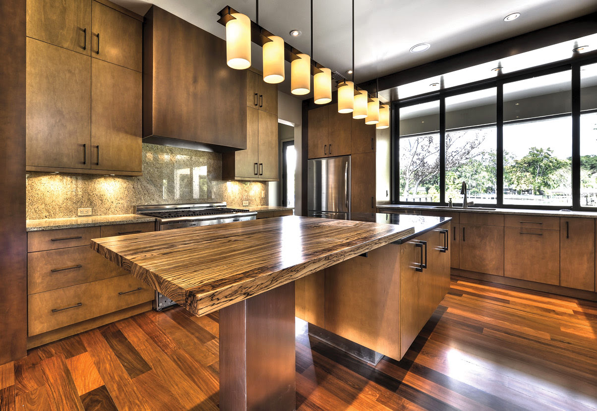 Creative Kitchen Counter-top Design Disguises Low Cost ...