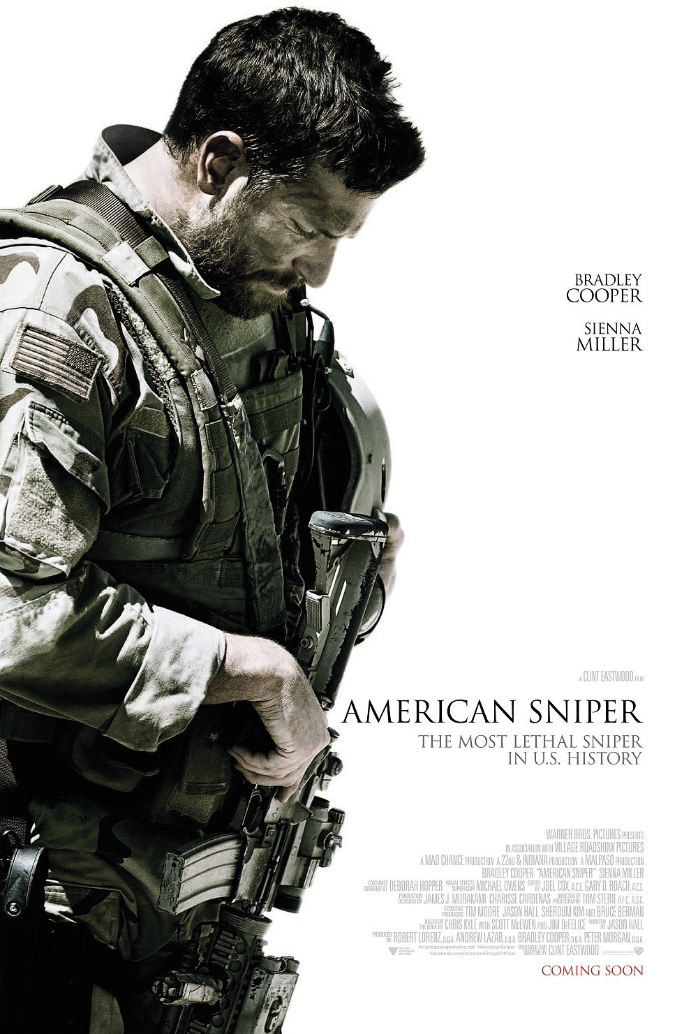 Extra Large Movie Poster Image for American Sniper