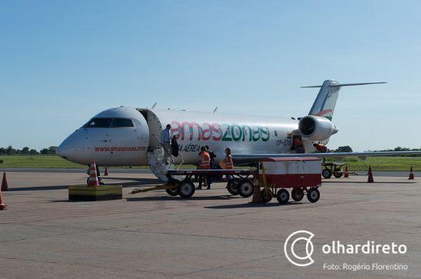 Duas companhias aéreas têm intenção de operar voos internacionais no Aeroporto Marechal Rondon