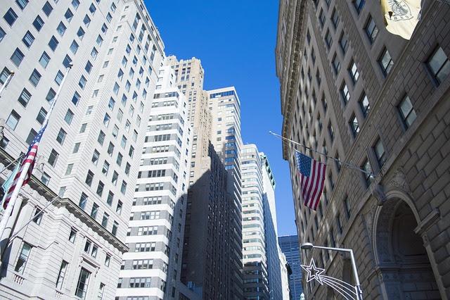Wall Street, Keuangan, New York, Dinding, Jalan, Bisnis
