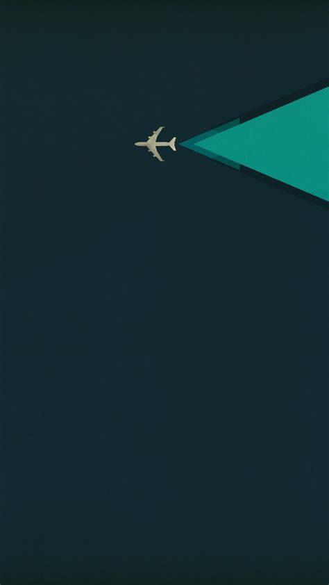minimalism airplane iphone background hd background