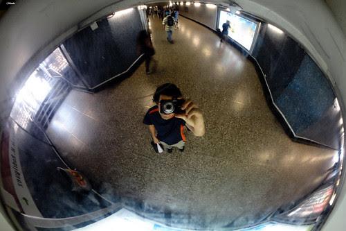 Metro vista 360 autorretrato by Alejandro Bonilla