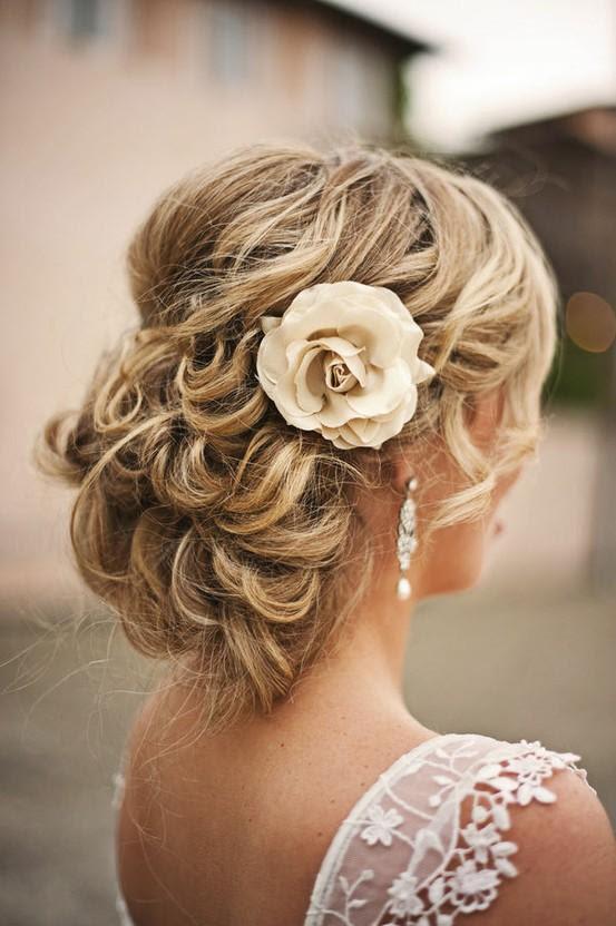Einfache Hochzeit Frisuren Hochzeits Hochsteckfrisur Frisur