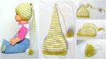 Шапочка для новорожденного Буратинка