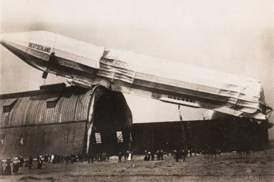 Crash of Deutschland II, under the command of Hugo Eckener