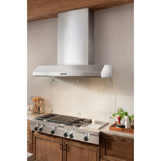 """KitchenAid KXW9748YSS 48"""" Commercial-Style Wall-Mount ..."""