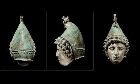 The Crosby Garrett Helmet, a Roman bronze cavalry parade helmet