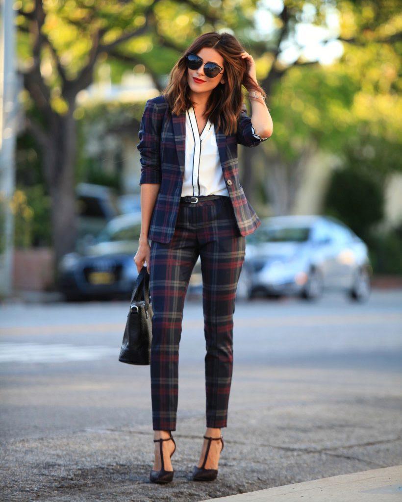 girl boss style  the perfect pant suit  sazan