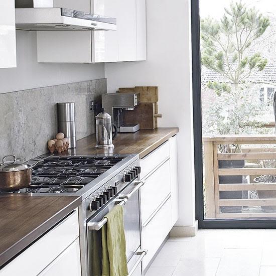 Granite splashback | Kitchen splashbacks | Kitchen design ...