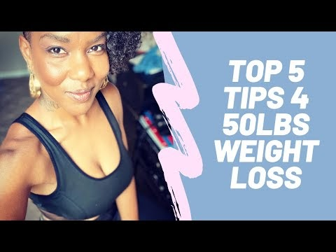 My Top 5 Tips For Weight Loss!| 3 MIN VIDEO