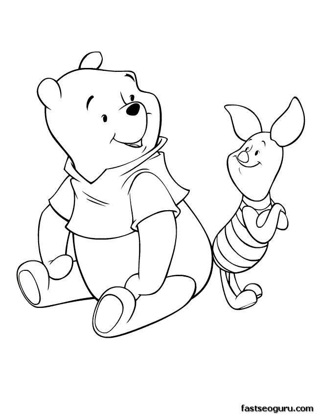 Disney Cartoon Characters Coloring Pages Cartoon Coloring Pages