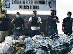 Ribuan Botol Cap Tikus Diselundupkan dari Bitung ke Papua, 13 ABK Diamankan Polisi