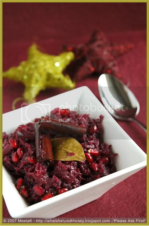 Red Cabbage-Pommegranate(01) by MeetaK