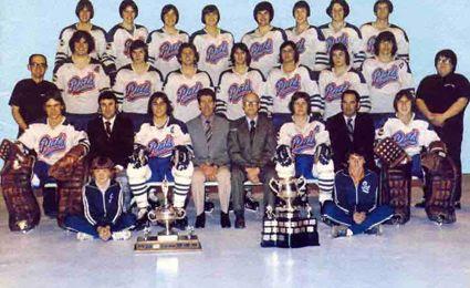 1973-74 Regina Pats team, 1973-74 Regina Pats team