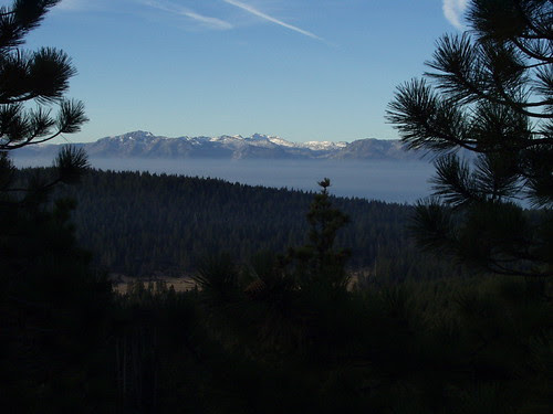 view from nearby cabin