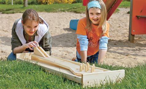 kegelbahn selber bauen kindergarten selbstde