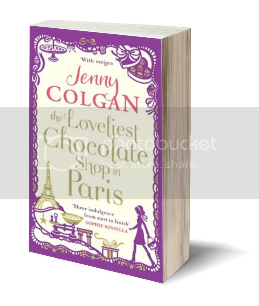 The Loveliest Chocolate Shop in Paris by Jenny Colgan Book Cover