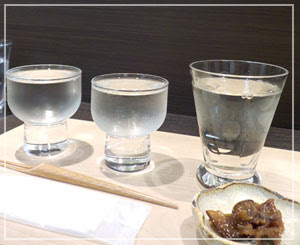 こちらは銀座松屋内「福光屋 醗酵バー」。お酒もあるけどかき氷も食べられます。