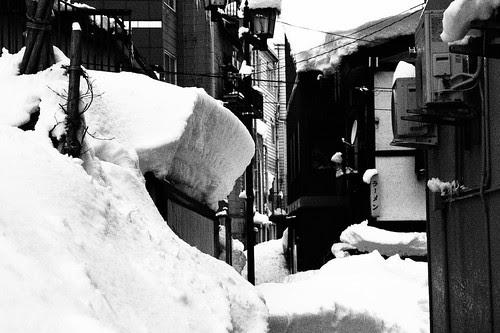 雪国のラフモノクローム