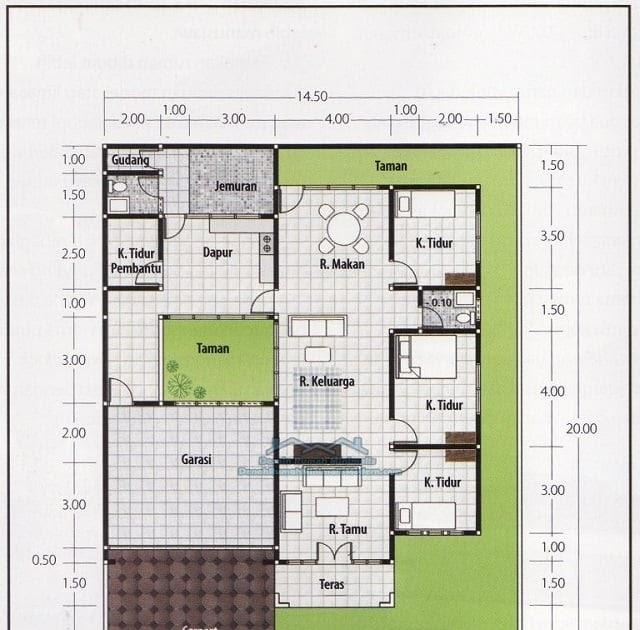 ukuran rumah minimalis 3 kamar
