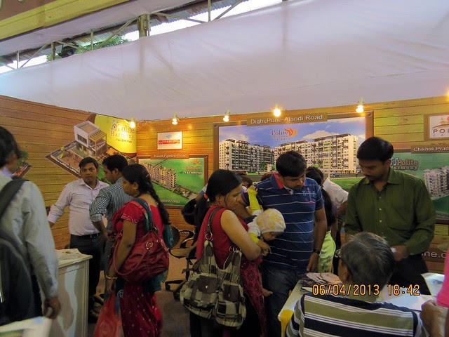 Polite Group, Chikhali Pradhikaran, Pune - Maharashtra Times Pune Property Show April 2013