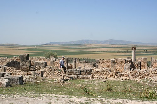 Volubilis and a French man with an italian hat! ;)