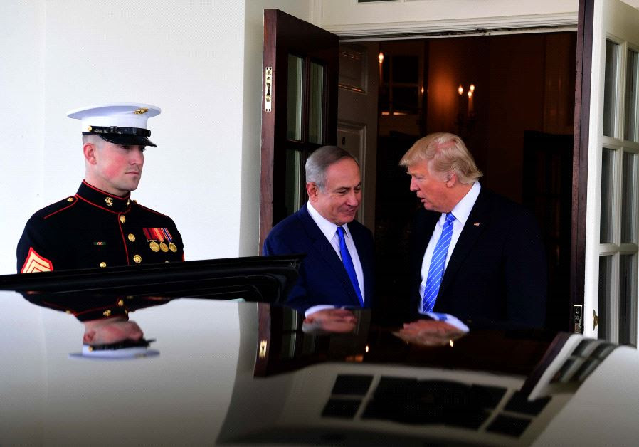 Prime Minister Netanyahu and President Trump