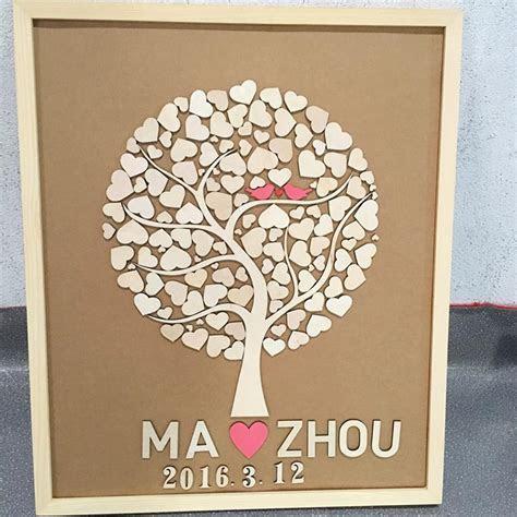 2018 Custom Wedding Guest Book Alternatives Wedding Tree