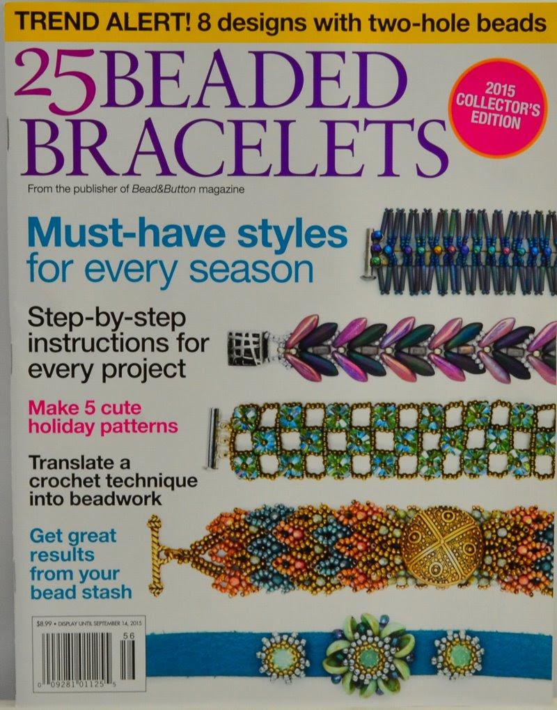 s45685 Magazine - Beadwork Presents -  Beaded Bracelets - Special Issue - 2015