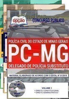Apostila Concurso PC MG 2018 | DELEGADO DE POLÍCIA SUBSTITUTO