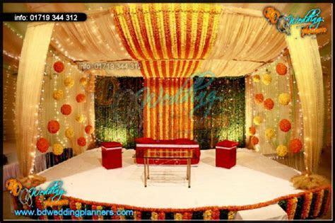Wedding Decoration & flower stage   BD Event Management