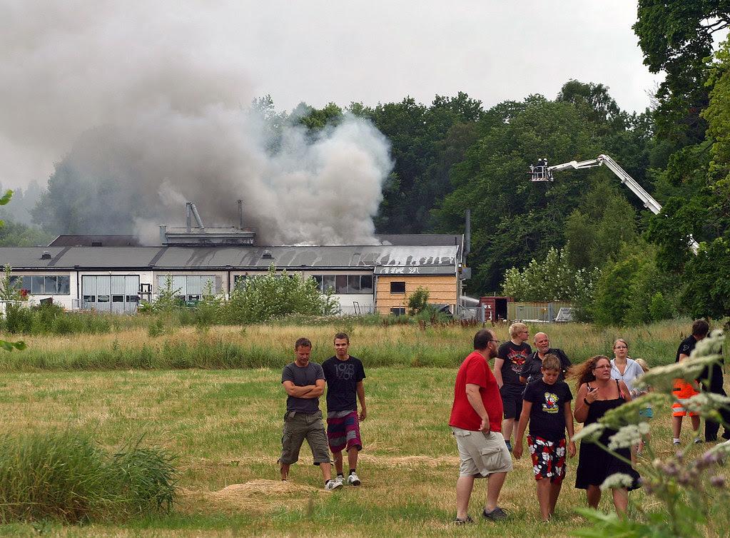 Explosion in Tungelsta