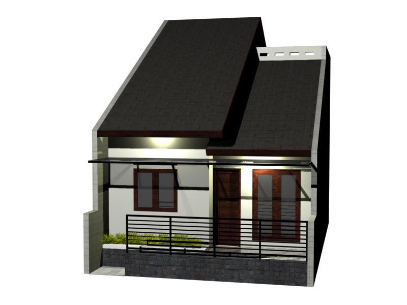 bagus Denah Rumah 2 Lantai Ukuran 6x10