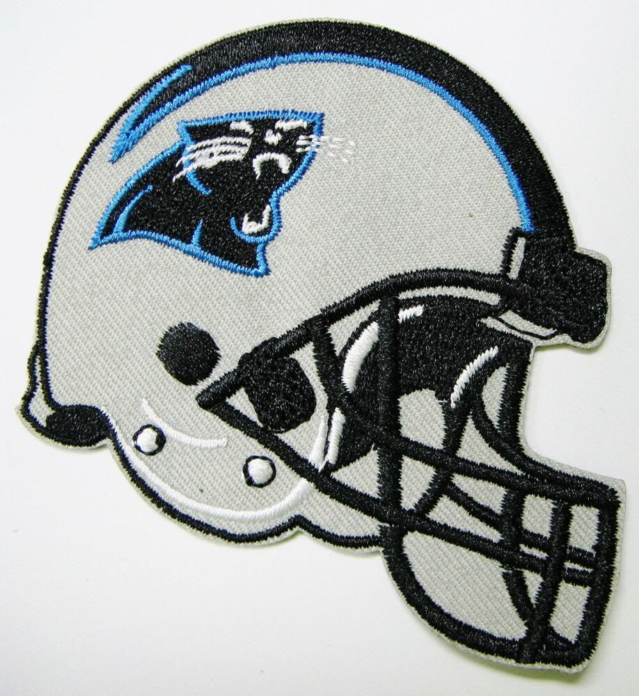 LOT OF 1 NFL NORTH CAROLINA PANTHERS EMBROIDERED HELMET LOGO PATCH ITEM  07  eBay