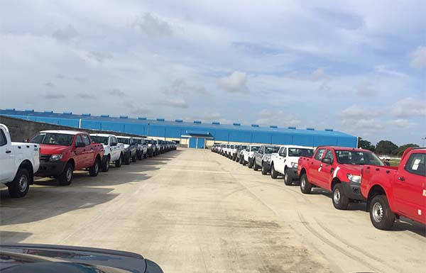 Coscharis Unveils Ford Auto Plant In Nigeria - 600 Vehicles Rolled Out Already