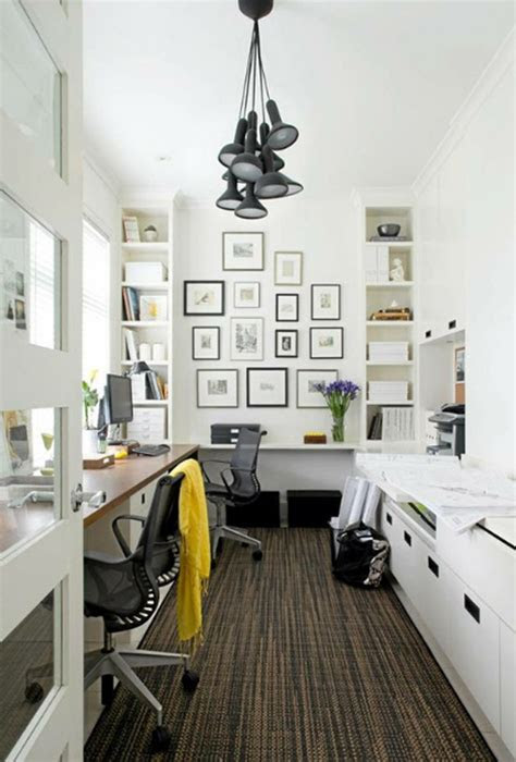 small home office room  wall system ideas