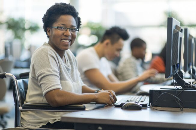 Students With Disabilities Meet Challenges in Online Courses - US News