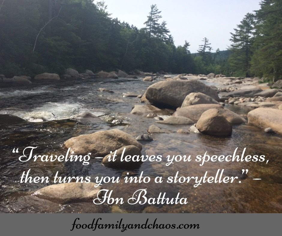 10 Quotes That Inspire Me To Travel Food Family And Chaos
