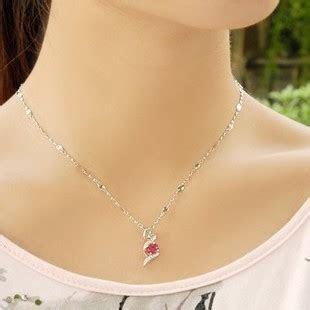 1 Carat Ruby Pendant Necklace for Women   JeenJewels