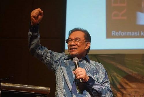 Biar Anwar tentukan hala tuju Malaysia